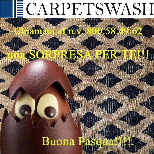 Pulizie di Primavera _promo pasqua lavaggio tappeti